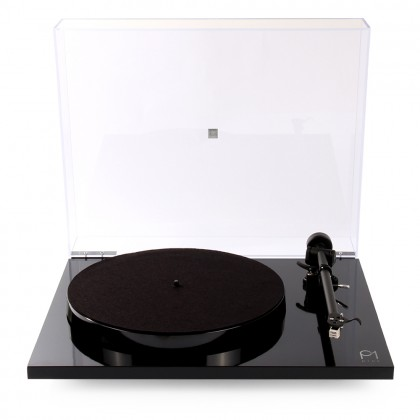 Rega Planar 1 Plus Turntable  - Gloss Black43844-1.jpg 3